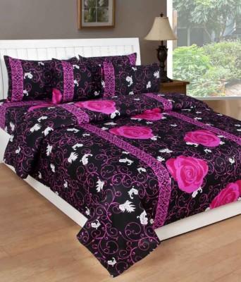 Ridhaan Cotton Printed Double Bedsheet