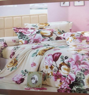 A R @ Home Cotton Floral Double Bedsheet