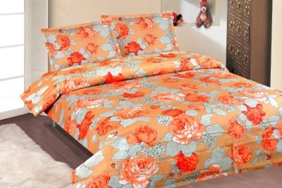 Roohi Cotton Floral Double Bedsheet