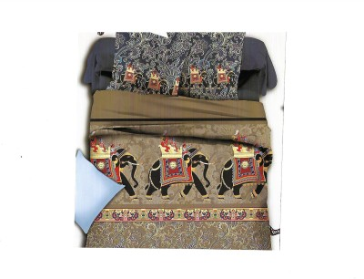 Sudesh Handloom Cotton Animal Queen sized Double Bedsheet