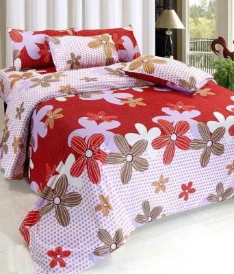 Victoria,s Secret Polycotton Floral Double Bedsheet