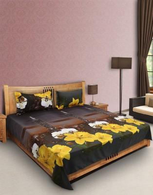 Decor Studio Cotton Floral Double Bedsheet