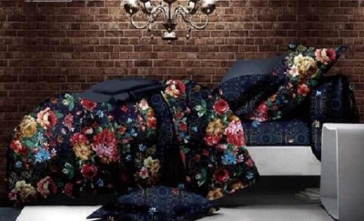 Cosy Polycotton Floral Double Bedsheet