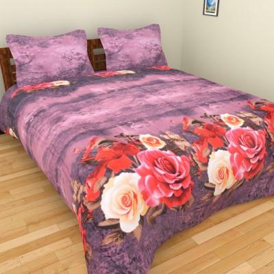 Brida Polycotton Floral Double Bedsheet
