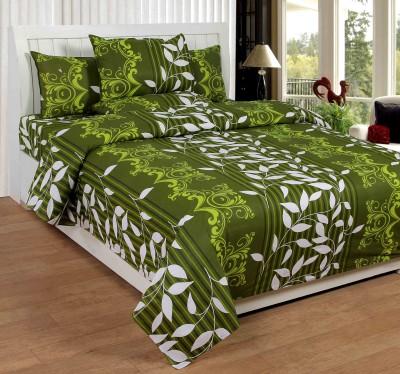 NITAVI Cotton Floral Double Bedsheet