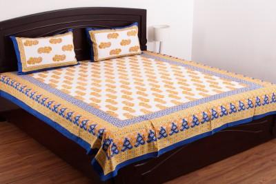 Jaipur Fabrics Cotton Printed Double Bedsheet