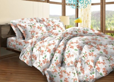 Bombay Dyeing Cotton Abstract Single Bedsheet