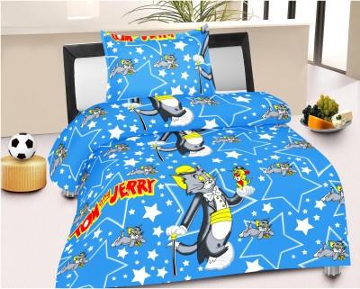 HSR Collection Cotton Cartoon Single Bedsheet