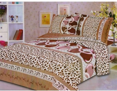 Fusion Polycotton Abstract Double Bedsheet