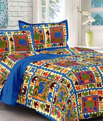 Manasvi Innovation Cotton Double Bed Cover