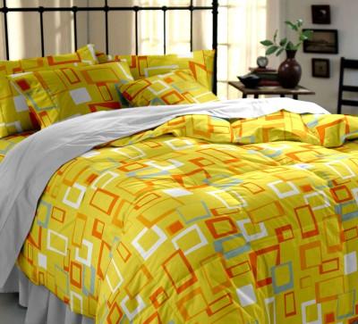 Dreamscape Cotton Plain Double Bedsheet