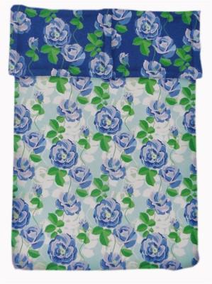 Amk Home Decor Cotton Cartoon Double Bedsheet