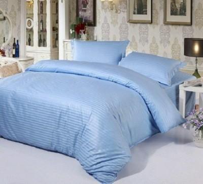Sparklings Satin Striped Single Bedsheet