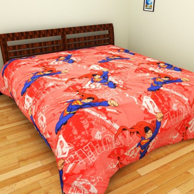 Portico New York Cotton Printed Double Bedsheet