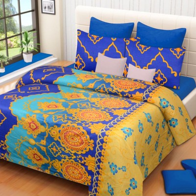 H2 Cotton Abstract Bedsheet