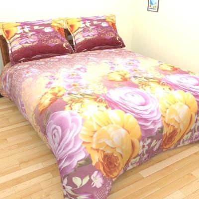 Birde Polycotton Floral Double Bedsheet
