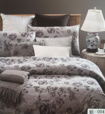 I-Dream Decor Cotton Floral King sized Double Bedsheet