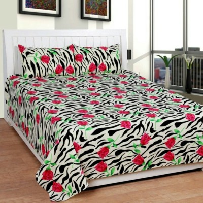 mysweethome Cotton Printed Double Bedsheet