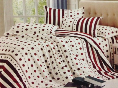Tima Polyester Printed Double Bedsheet