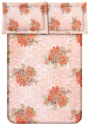 Bedsheet Zone Cotton Printed Double Bedsheet