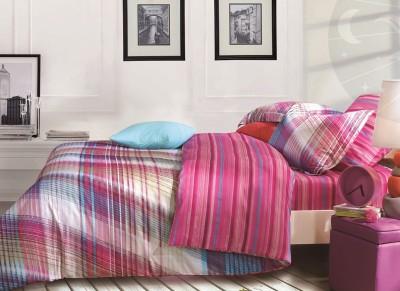 Kiaana Usa Cotton Geometric Double Bedsheet