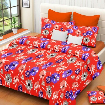 The Sleeping Partner Cotton Floral Double Bedsheet