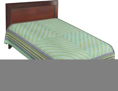 RajLaxmi Cotton Checkered Single Bedsheet
