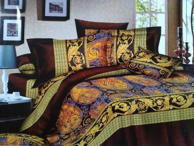 Spade Polyester Paisley Double Bedsheet