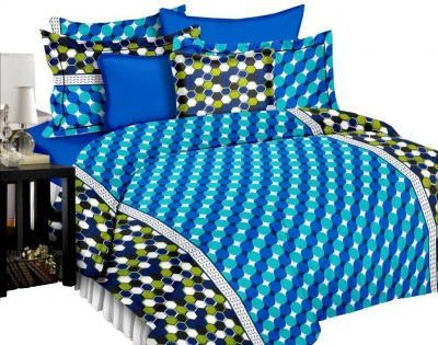Manzoni by KAWAI COLLECTION Cotton Polka Double Bedsheet