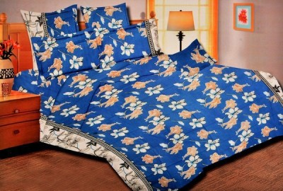 Griiham Cotton Floral Double Bedsheet