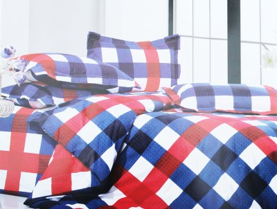 Unique Cotton Abstract Queen sized Double Bedsheet