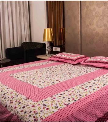 Jaipur Printex Cotton Printed King sized Double Bedsheet at flipkart