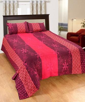 JMD Polycotton Floral Double Bedsheet