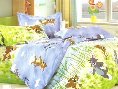 Breeza Polycotton Animal Double Bedsheet