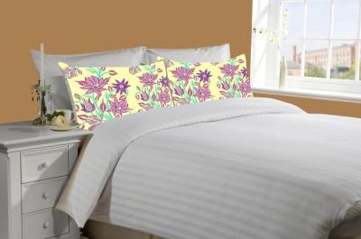 meSleep Cotton Striped Double Bedsheet