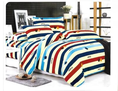 Sudesh Handloom Cotton Striped Queen sized Double Bedsheet