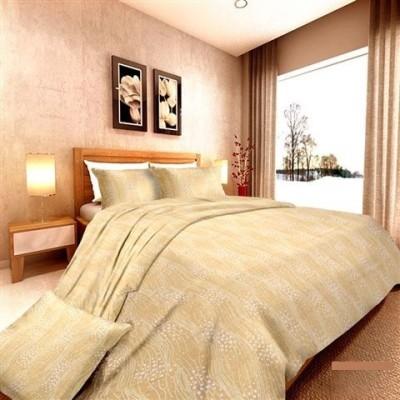 Aalidhra Techtex Cotton Floral Queen sized Double Bedsheet
