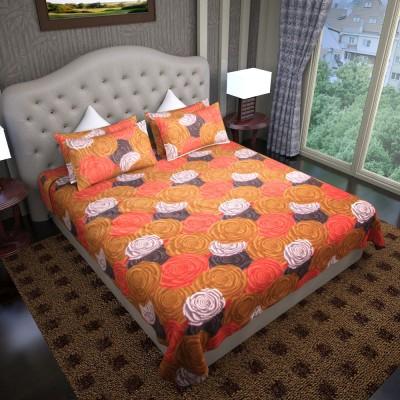 Graffiti Home Cotton Floral Double Bedsheet