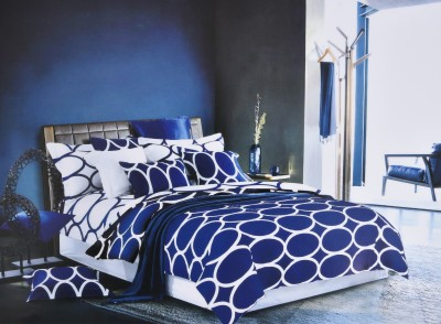 Shivalik Polycotton Abstract Double Bedsheet