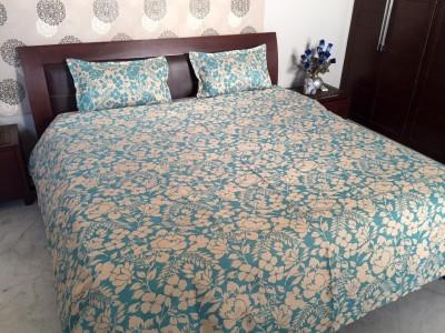 Natraj Polyester Floral Double Bedsheet