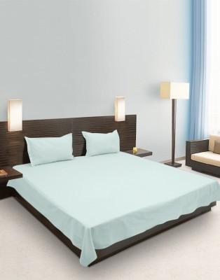 eSOUL Cotton Plain Double Bedsheet