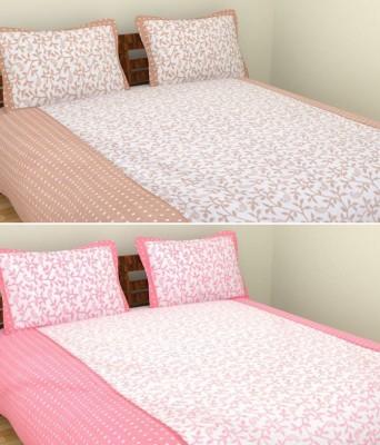 Handloomhub Cotton Printed Double Bedsheet