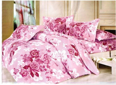 Newhome Polycotton Floral Double Bedsheet
