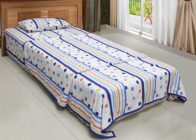 CocoBee Cotton Polka Single Bedsheet