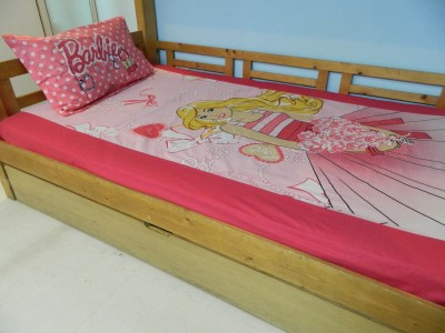 A,la Mode Creations Cotton Printed Single Bedsheet