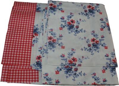 Vg store Cotton Floral Double Bedsheet