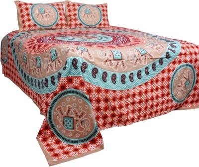 Rama Cotton Animal Double Bedsheet