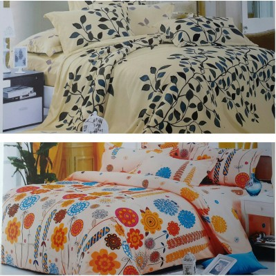 Life Like Cotton Striped Double Bedsheet