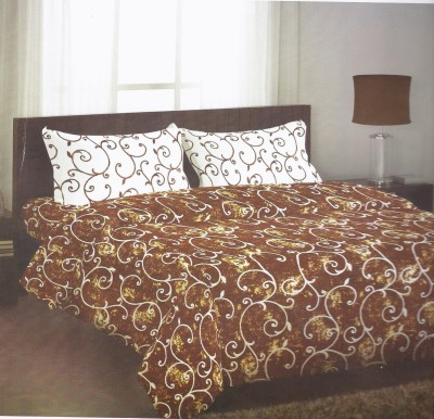 Stellar Home USA Polycotton Abstract Queen sized Double Bedsheet