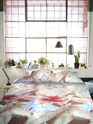 Zeupic Polycotton Floral Double Bedsheet